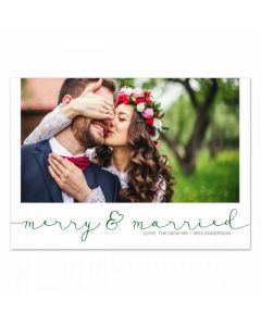Merry & Married Card