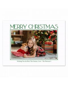Merry Stripes Card