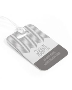 The Roaring 20's Luggage Tag