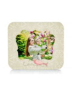 Bird in Love Mouse Pad