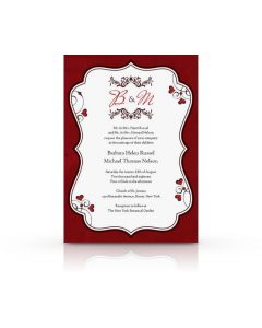 Romantic Invitation Card