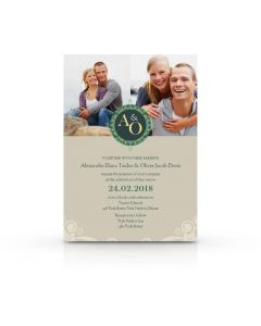 The Seal of Love Invitation Card