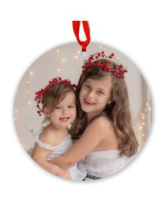 Personalized Metal Ornament