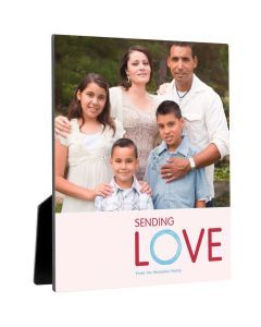 Watercolor Love Photo Panel