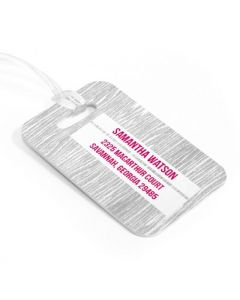 Her & Him Luggage Tag