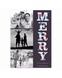 Dotted Merry Card