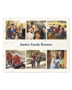 Family Reunion Photo Blanket