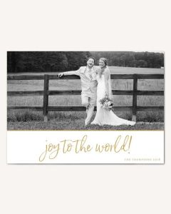 Joy to the World 5x7 Card
