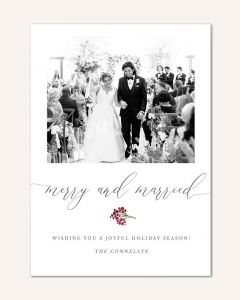 Merry & Married 5x7 Card