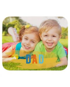 Paint Stroke Dad Mouse Pad