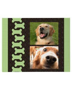 Dog Bone Wrapped Canvas Print
