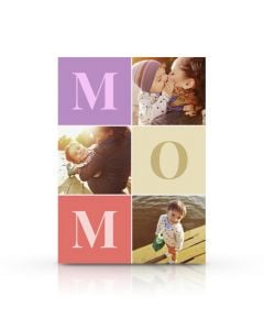 Large Letters Mother's Day Card