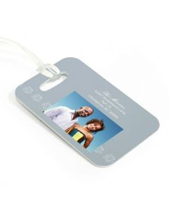 Blossom Luggage Tag