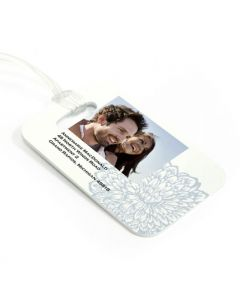 Dahlia Luggage Tag