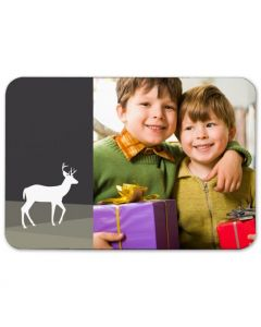 Red Nosed Reindeer 2.5X3.5 Magnet