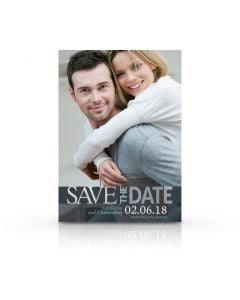 Modern Save The Date Card