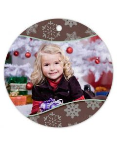 Snowflake Blessings Ornament