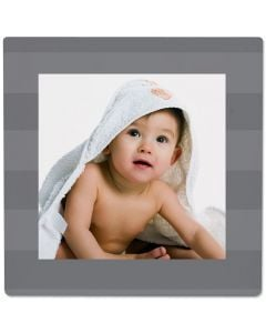 Stripe Gray Photo Panel