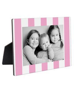 Pink Stripes Photo Panel