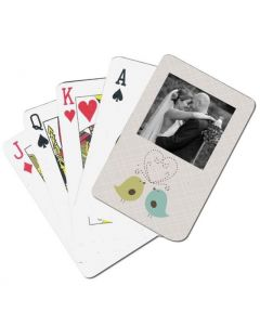 Birds Sing Love Playing Cards