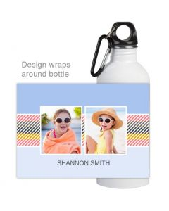 Candy Stripe Water Bottle