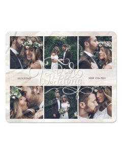 Wedding Photo Blanket